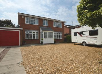 Thumbnail 4 bed detached house for sale in Ardleigh Close, Wisbech