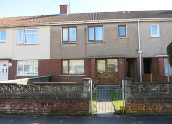 Thumbnail 3 bed terraced house for sale in 2 St Asaph Drive, Sandfields, Port Talbot.