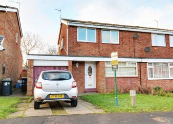 Thumbnail 3 bedroom semi-detached house for sale in Priory Crescent, Ulceby