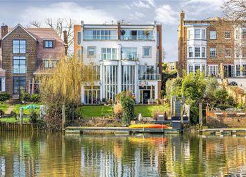 Thumbnail 5 bed semi-detached house for sale in Cross Deep, Twickenham
