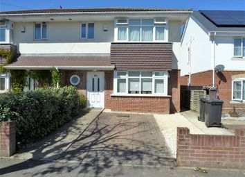 Thumbnail 3 bed semi-detached house for sale in Markham Avenue, Northbourne, Bournemouth