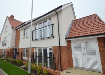 Thumbnail 1 bed flat for sale in Stowupland Road, Stowupland, Stowmarket