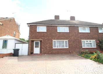 Thumbnail 4 bed semi-detached house for sale in Rembrandt Drive, Northfleet, Gravesend, Kent