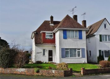 Thumbnail 4 bed detached house for sale in Half Moon Lane, Salvington, Worthing