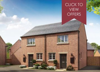 "Thumbnail 2 bedroom end terrace house for sale in ""Wilford"" at Shrewsbury Court, Upwoods Road, Doveridge, Ashbourne"