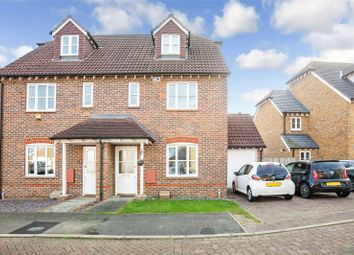 Thumbnail 3 bed semi-detached house for sale in Ailsa Mews, Rochester, Kent