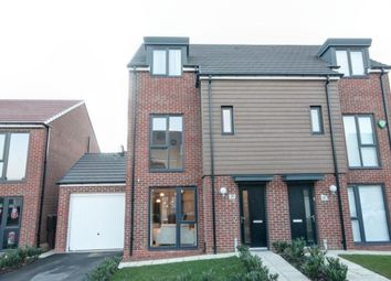 Thumbnail 3 bed semi-detached house for sale in Meldon Close, Washington