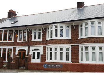 Thumbnail 3 bed terraced house to rent in Victoria Park Road West, Cardiff