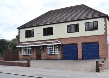 Thumbnail 7 bed detached house for sale in Woodville Road, Overseal, Swadlincote
