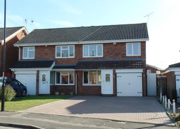 Thumbnail 3 bed semi-detached house for sale in Oakworth Close, Coventry