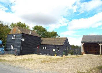 Thumbnail 3 bed detached house for sale in Newmarket, Suffolk