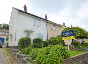 Thumbnail 2 bed semi-detached house for sale in Erle Gardens, Plymouth, Devon