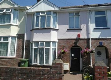 Thumbnail 3 bedroom terraced house to rent in Abbey Road, Barnstaple, Devon