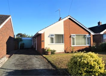 Thumbnail 2 bed detached bungalow for sale in Foxleigh Grove, Wem, Shrewsbury