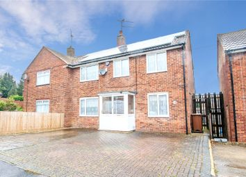 Thumbnail 3 bed semi-detached house for sale in Patrixbourne Avenue, Gillingham, Kent