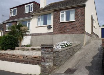 Thumbnail 2 bed semi-detached bungalow to rent in Dasphers, Brixham
