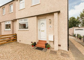 Thumbnail 2 bed semi-detached house for sale in 41 Broomhall Gardens, Corstorphine