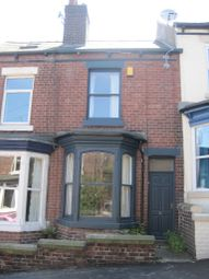 Thumbnail 3 bed terraced house to rent in Fulmer Road, Hunters Bar, Sheffield