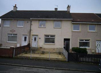 Thumbnail 3 bedroom terraced house for sale in Clyde Drive, Bellshill