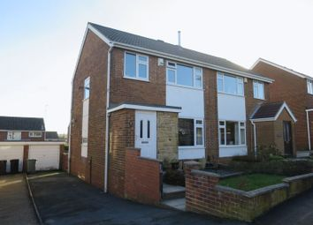 Thumbnail 3 bedroom semi-detached house for sale in Harwill Road, Churwell, Leeds
