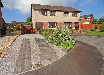 Thumbnail 3 bed semi-detached house for sale in Lime Grove, Dumfries