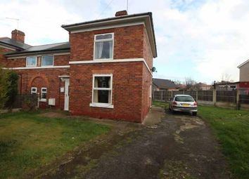 Thumbnail 3 bed semi-detached house for sale in Hardwick Road West, Worksop, Nottinghamshire
