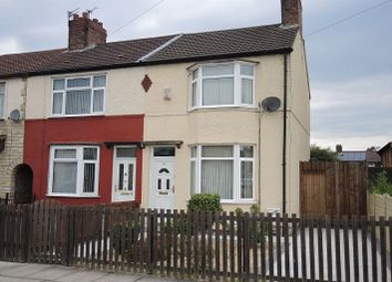 Thumbnail 3 bed end terrace house for sale in Max Road, Dovecot, Liverpool