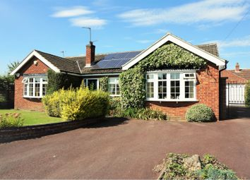 Thumbnail 3 bed detached bungalow for sale in Dark Lane, Barnby-In-The-Willows, Newark