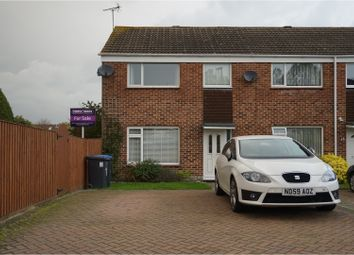 Thumbnail 3 bed end terrace house for sale in Field Close, Burgess Hill
