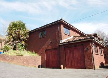 Thumbnail 3 bed detached house for sale in Hill Road, Neath Abbey, Neath