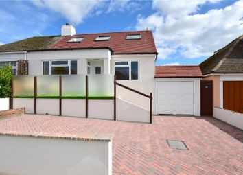 Thumbnail 4 bedroom semi-detached bungalow for sale in Griffiths Avenue, North Lancing, West Sussex