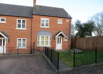 Thumbnail 3 bed end terrace house for sale in Munnmoore Close, Kegworth, Derby