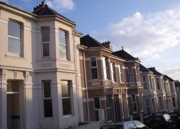 Thumbnail 4 bedroom town house to rent in Grafton Road, Mutley, Plymouth