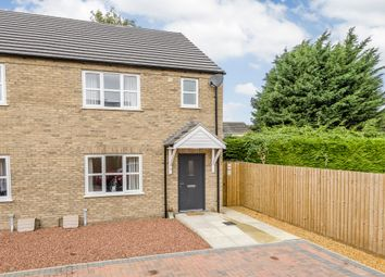 Thumbnail 3 bed semi-detached house for sale in St. Johns Chase, March
