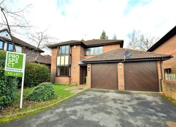 Thumbnail 4 bed detached house to rent in Field Park, Warfield, Berkshire