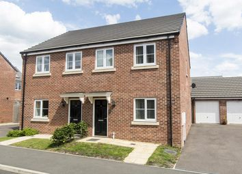 Thumbnail 3 bedroom property for sale in Creed Road, Oundle, Peterborough