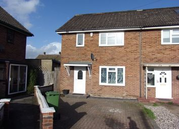 Thumbnail 2 bed end terrace house to rent in Tuck Road, South Hornchurch