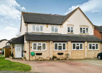 Thumbnail 3 bed semi-detached house for sale in Nortenham Close, Bishops Cleeve, Cheltenham