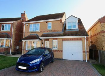 Thumbnail 4 bed detached house for sale in Lady Meers Road, Cherry Willingham, Lincoln