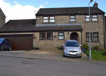 Thumbnail 4 bed detached house for sale in Henacre Wood Court, Queensbury, Bradford