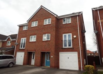 Thumbnail 4 bed town house to rent in Mottram Drive, Stapeley, Nantwich