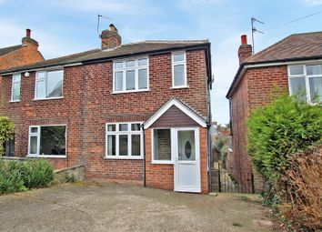 Thumbnail 2 bed semi-detached house for sale in Clipstone Avenue, Mapperley, Nottingham