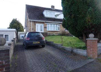 Thumbnail 3 bed semi-detached house for sale in Cleviston Park, Llangennech, Llanelli
