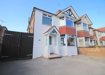 Thumbnail 4 bed semi-detached house for sale in Moy Avenue, Eastbourne