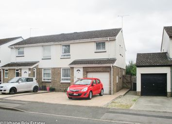 Thumbnail 4 bed semi-detached house for sale in Worsley Road Freshbrook, Swindon