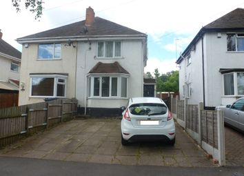 Thumbnail 2 bed semi-detached house for sale in Elmfield Avenue, Pype Hayes, Birmingham