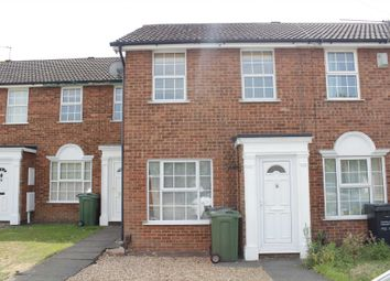 Thumbnail 2 bed town house to rent in Chatsworth Drive, Syston, Leicester
