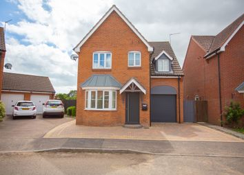 Thumbnail 4 bed detached house for sale in Horsley Drive, Gorleston, Great Yarmouth