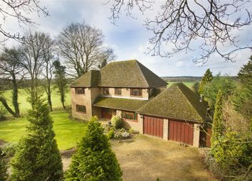 Thumbnail 5 bed detached house for sale in Hazeley Heath, Hook
