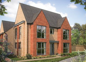 "Thumbnail 3 bed link-detached house for sale in ""The Sheringham"" at Station Road, Longstanton, Cambridge"